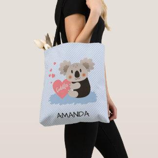 Bolsa Tote O Koala bonito afaga ID386