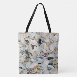Bolsa Tote O mar descasca a sacola