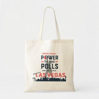 Bolsa Tote O março Las Vegas das mulheres - sacola