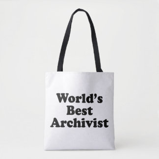 Bolsa Tote O melhor arquivista dos mundos