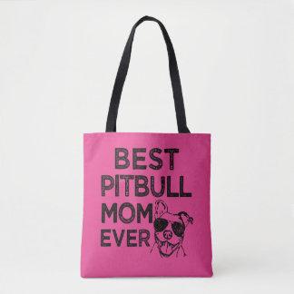 Bolsa Tote O melhor saco da mamã de Pitbull nunca