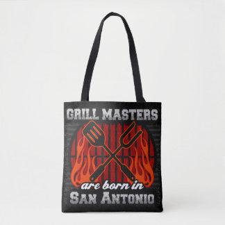 Bolsa Tote O mestrado da grade é nascido em San Antonio Texas