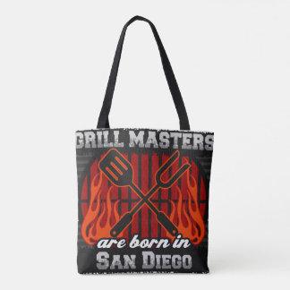 Bolsa Tote O mestrado da grade é nascido em San Diego Florida