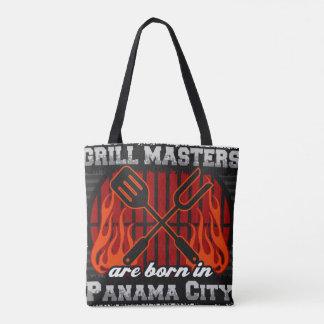 Bolsa Tote O mestrado da grade é nascido na Cidade do Panamá