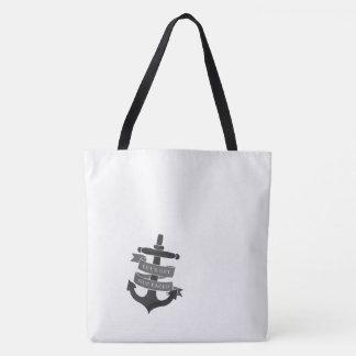 Bolsa Tote O navio enfrentou a sacola