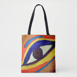Bolsa Tote o olho