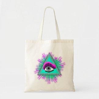 Bolsa Tote O olho vê-o!