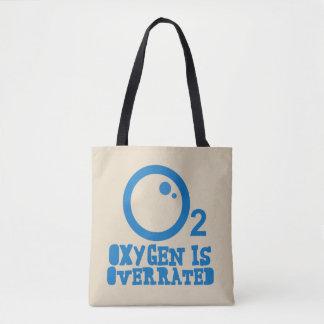 Bolsa Tote O oxigênio é avaliado em excesso