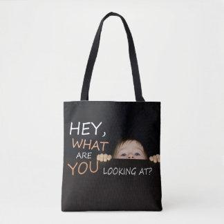 Bolsa Tote O que são você que olha o bebê