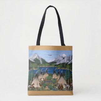 Bolsa Tote O saco de Nez Perce