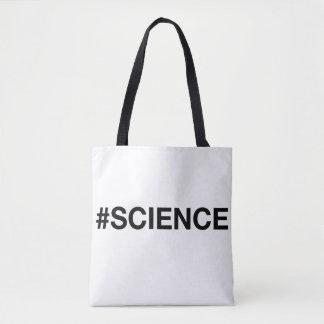 Bolsa Tote O saco sem glúten do #Science do nerd