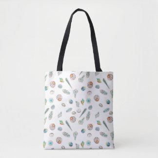 Bolsa Tote O Seashell decorou a sacola