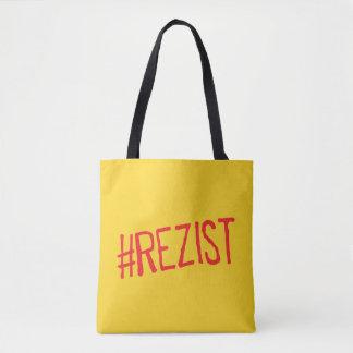 Bolsa Tote o slogan político de romania do rezist resiste o