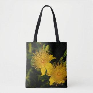 Bolsa Tote O Sunburst floresce a sacola
