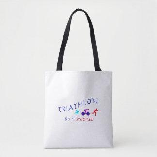 Bolsa Tote O Triathlon, fá-lo Spooked