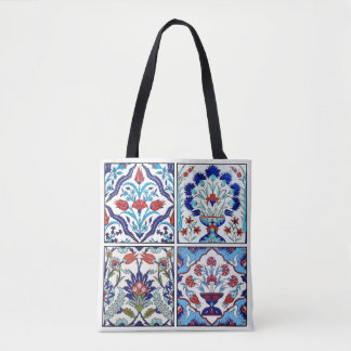 Bolsa Tote O turco telha a coleção