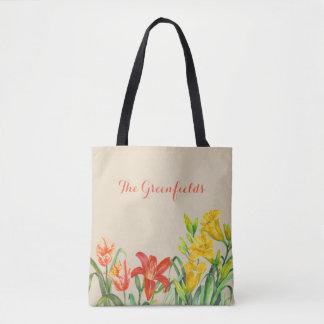 Bolsa Tote O verão feito sob encomenda do primavera floresce