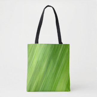Bolsa Tote O verde descasca o teste padrão