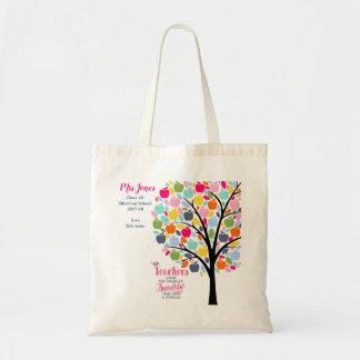 Bolsa Tote Obrigado da árvore de maçã do professor você