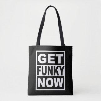 Bolsa Tote Obtenha Funky agora