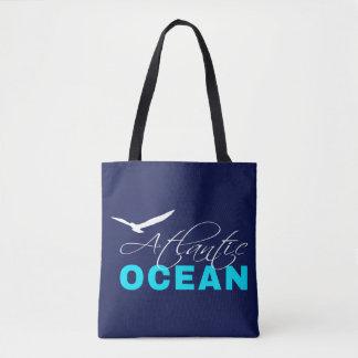 Bolsa Tote Oceano Atlântico customizável