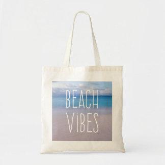 Bolsa Tote Oceano bonito das impressões da praia e paraíso da