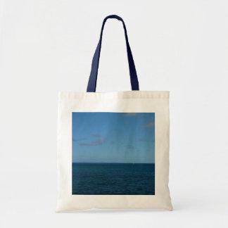 Bolsa Tote Oceano do azul do horizonte de St Lucia