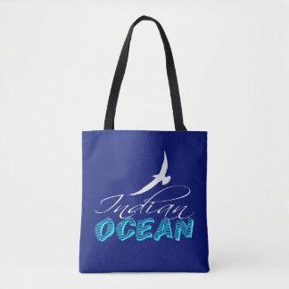 Bolsa Tote Oceano Índico customizável
