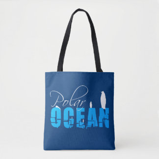Bolsa Tote Oceano polar customizável