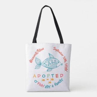 Bolsa Tote O'Fish'ally adotou o presente temático da adopção