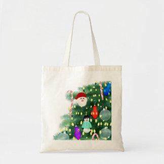 Bolsa Tote Oh árvore de Natal