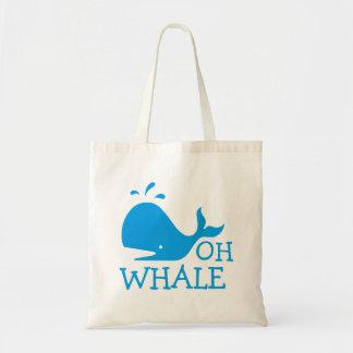 Bolsa Tote Oh baleia