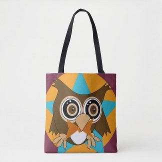 Bolsa Tote Oldrich a coruja é uma sacola da estrela