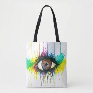 Bolsa Tote Olho da aguarela
