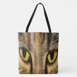 Bolsa Tote Olhos de gato intensos