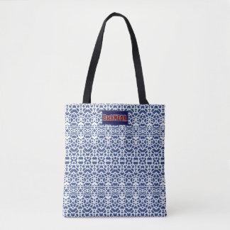 Bolsa Tote Olhos em você comprar moderno do saco azul do
