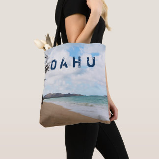 Bolsa Tote Ondas & praia de oceano de Oahu Havaí