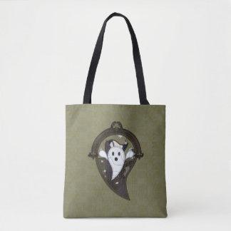 Bolsa Tote Ooh o fantasma toda sobre - imprima o saco