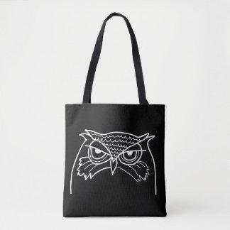 Bolsa Tote Original minimalista legal do esboço artístico