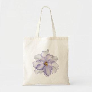 Bolsa Tote Orquídea bonita da lavanda