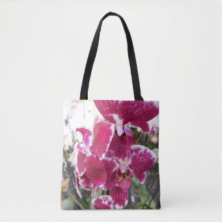 Bolsa Tote Orquídea roxa