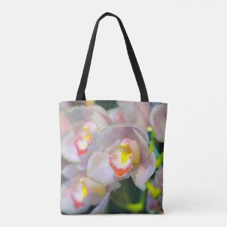 Bolsa Tote Orquídeas na flor