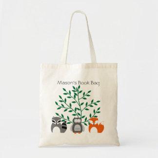 Bolsa Tote Os animais da floresta personalizaram a sacola