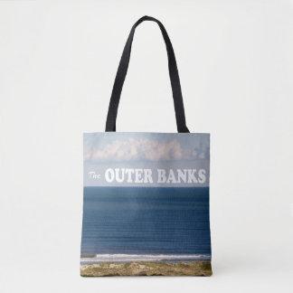 Bolsa Tote Os bancos exteriores