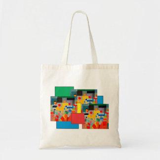 Bolsa Tote Os corredores por Robert Delaunay