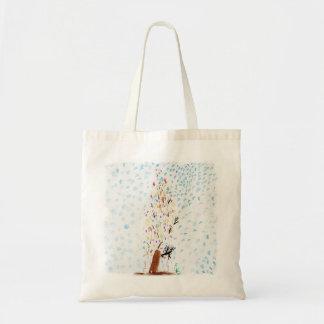 Bolsa Tote Os desenhos do Tinca. Árvore de Natal