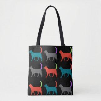 Bolsa Tote Os gatos no saco!