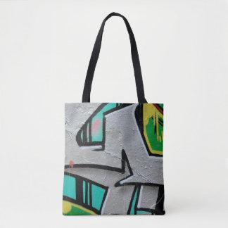 Bolsa Tote Os grafites na moda abstratos fecham-se acima da
