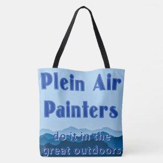 Bolsa Tote Os pintores do ar de Plein fazem-no no excelente