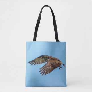 Bolsa Tote Osprey em vôo no parque estadual da ilha da lua de
